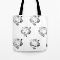 ouija Tote Bags featuring Ouija by Rebecca Louise