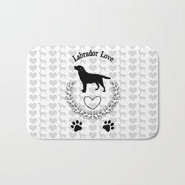 Labrador Love Bath Mat