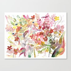 Wild flowers IV Canvas Print
