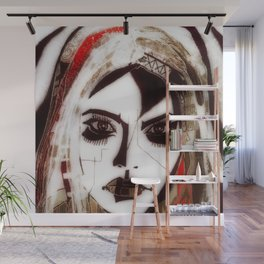 Joan Wall Mural