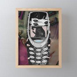 Nokia Kinkster Framed Mini Art Print