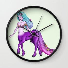 Pastel Centaurette Wall Clock
