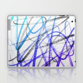 Expressive and Spontaneous Abstract Marker Laptop & iPad Skin