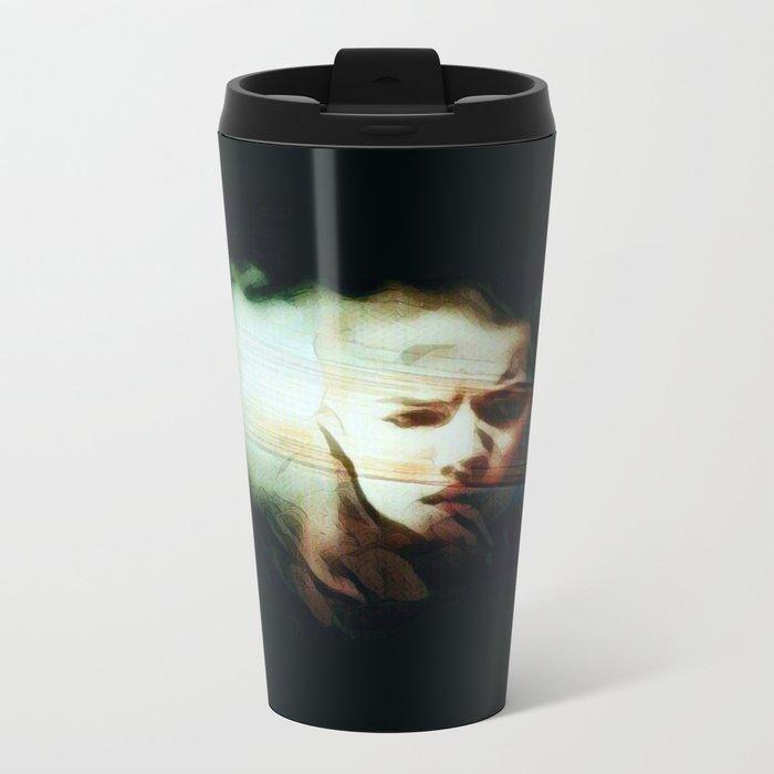 A Darker Hiding Place Metal Travel Mug