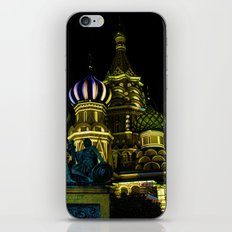 Saint Basil's Cathedral, Moscow iPhone & iPod Skin