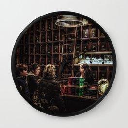 The Tea Shop Wall Clock