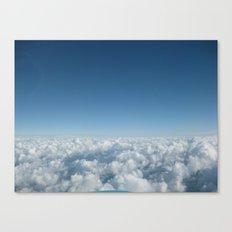 Fluffy Clouds II Canvas Print