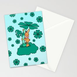 Lucky Bunny Stationery Cards