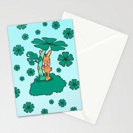 Lucky Bunny Stationery Cards