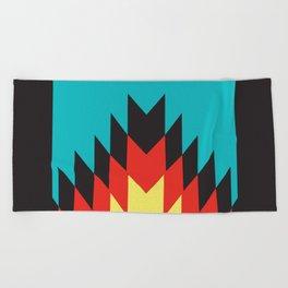 American Native Pattern No. 164 Beach Towel