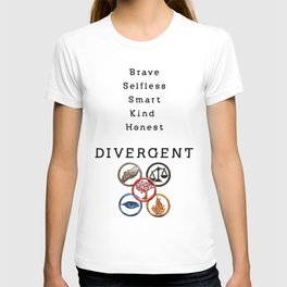 DIVERGENT - ALL FACTIONS T-shirt