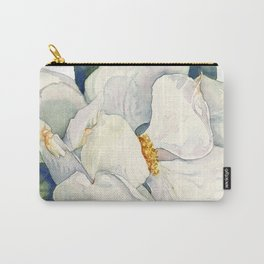 Magnolia Full Bloom Carry-All Pouch