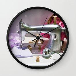 Retro sewing machine Wall Clock