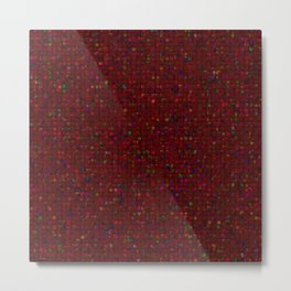 Antique Texture Garnet Metal Print