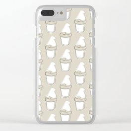 The Newsprint Gnome Clear iPhone Case