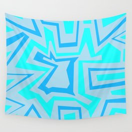 Ice Banded - Coral Reef Series 009 Wall Tapestry