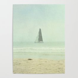 Sail Away - Newport Beach California Poster