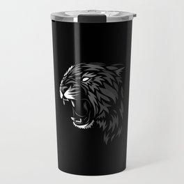 Tribal Leopard Travel Mug