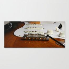 Electric Guitar close up  Canvas Print