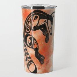 Ghost Fox Travel Mug