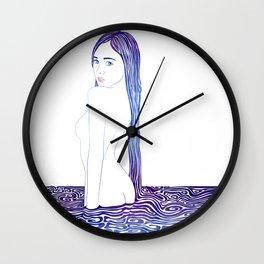 Water Nymph XXIX Wall Clock