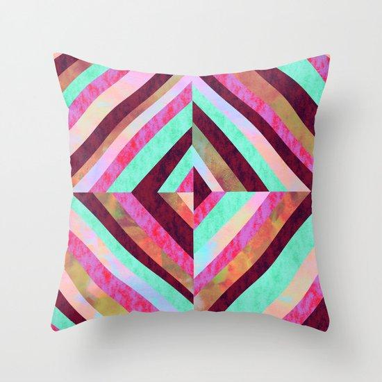 PATTERN {Diamond 001} Throw Pillow