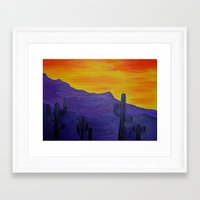 mexico Framed Art Prints featuring Mexico by Monica Georg-Buller