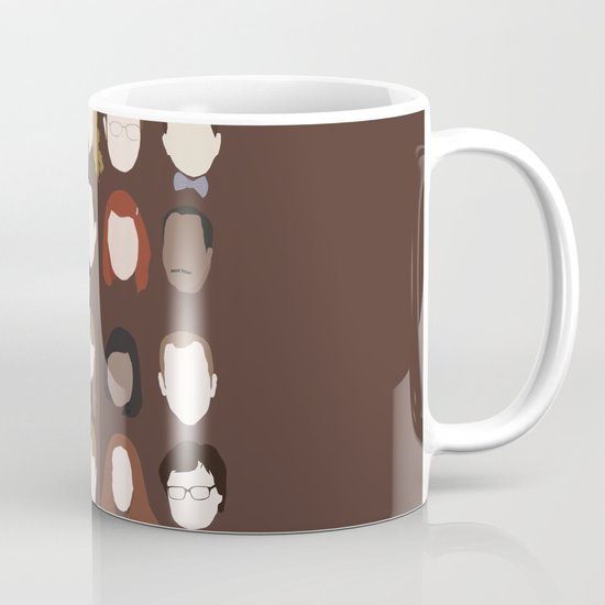 The Office Minimalist Poster Coffee Mug By Holly Ent