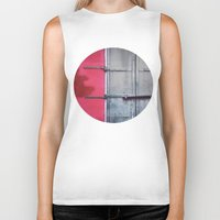 memphis Biker Tanks featuring Memphis Window by wendygray