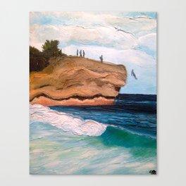 Shipwreck Rock, Kauai Canvas Print