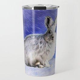 Snow Bunny Travel Mug