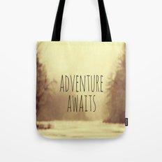 Adventure Awaits II Tote Bag