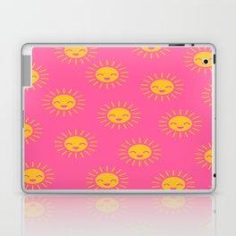 Litlle Sunshine (pink 2) Laptop & iPad Skin