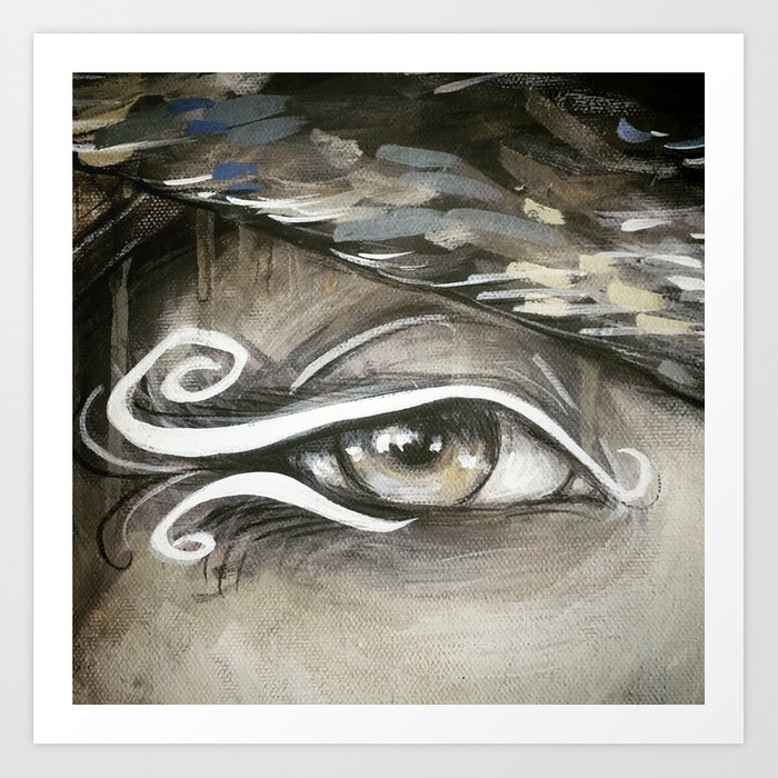Eyes of the World Art Print
