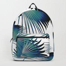 Fan Palm Leaves Paradise #1 #tropical #decor #art #society6 Backpack