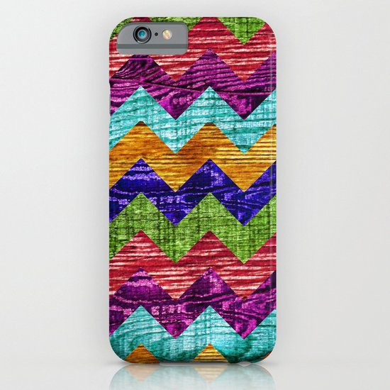 Natural Chevron Flow iPhone & iPod Case