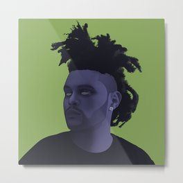 Abel Tesfaye | CreativeRebel Metal Print