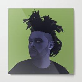 Abel Tesfaye | CreativeRebel Metal Print