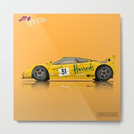 McLaren F1 GTR #06R - 1995 Le Mans 3rd Place Finisher Metal Print
