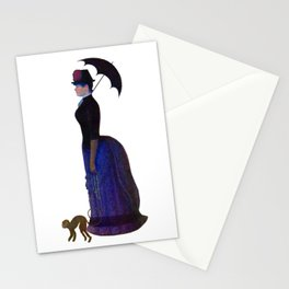 Lady with a Parasol Stationery Cards