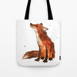Mindful Fox Tote Bag