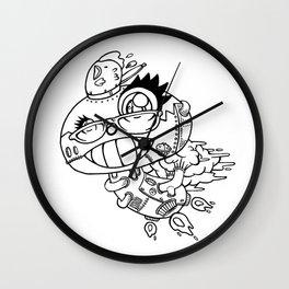 shiitake mushroom Wall Clock