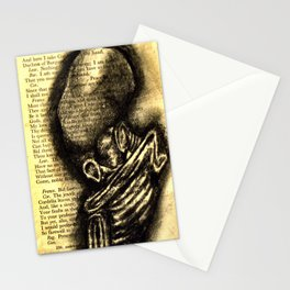 Mummified Fetus Stationery Cards