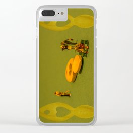 Dreaming Of Love Gone By Clear iPhone Case