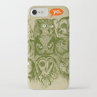 sale iPhone & iPod Cases featuring Wisdom to the Nines by Rachel Caldwell