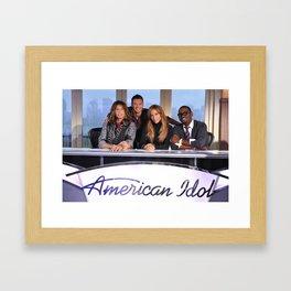 American idol Framed Art Print