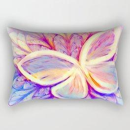 Pastel Butterfly Wings Rectangular Pillow