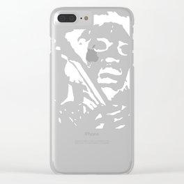 Jimmy Hendrix Clear iPhone Case
