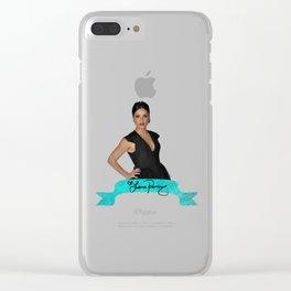 Lana Parrilla Autograph 2 Clear iPhone Case