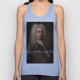 George Frideric (or Frederick) Handel (born Georg Friedrich Händel) by Balthasar Denner (c.1726–172 Unisex Tank Top